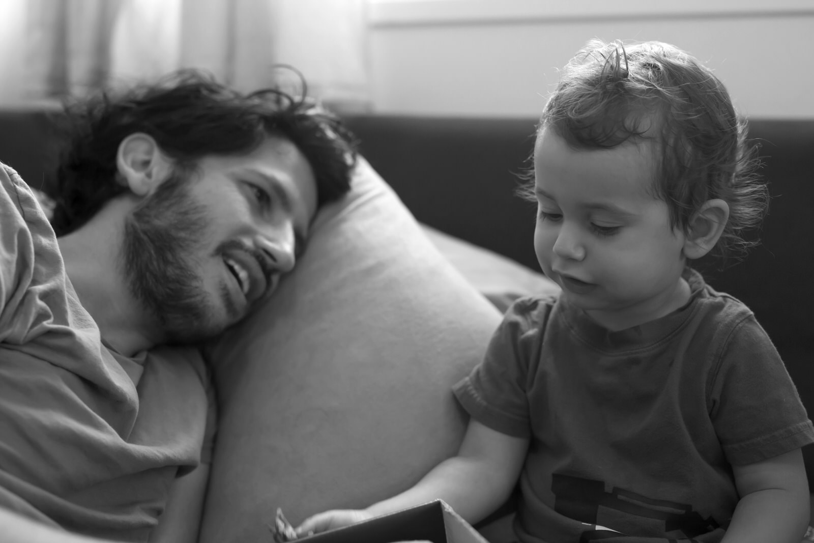 צילומי ילדים בבית